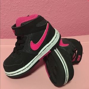 Cute toddler Nike's